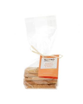 Biscuits rustici orange et noix