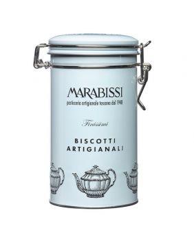 Petits biscuits au chocolat et à l'orange boite collector Marabissi 200 g