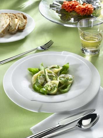Conchiglioni aux épinards