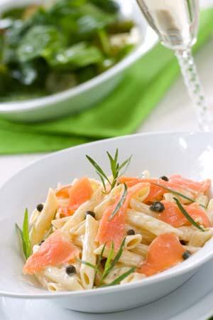 Pennine saumon fumé et mozzarella